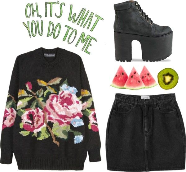"""""""oh hey floral"""" by only-desire ❤ liked on Polyvore"""