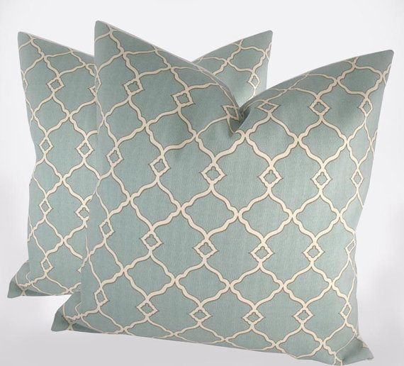 Dusty Teal Decorative Pillow