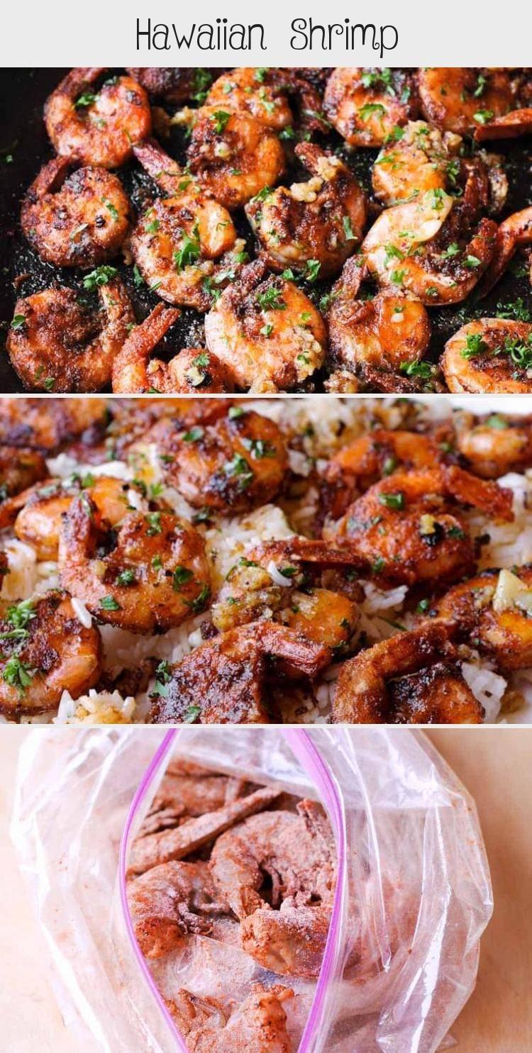 Photo of Hawaiian Shrimp is an easy garlic butter shrimp tossed in an succulent garlic sa…