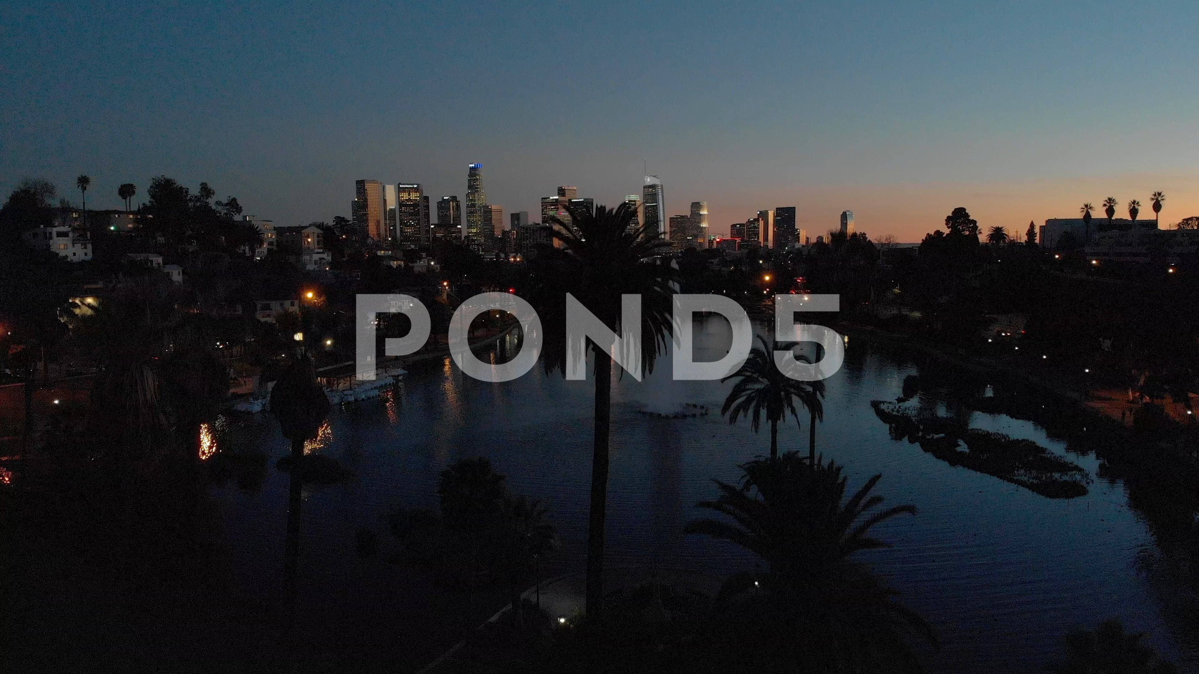 Los Angeles Downtown Buildings Skyline Evening Sunset Aerial Moving Flying Drone Stock Footage Ad Buildings Skyline Evening Lo Evening Sunset Aerial Skyline