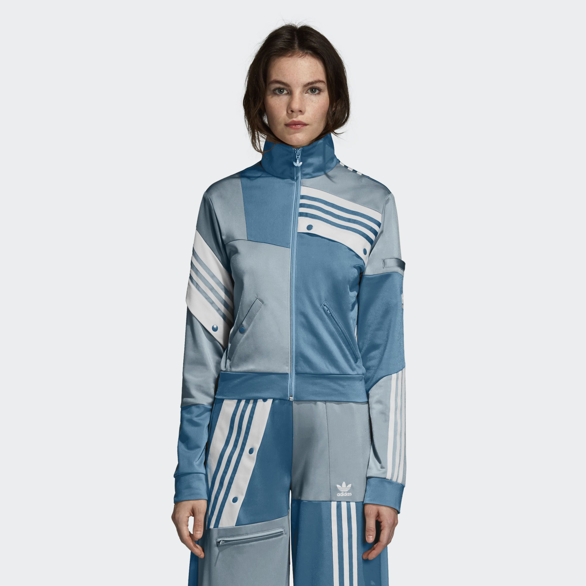 big sale 3e6a3 2c749 Shop for Deconstructed Track Jacket - Grey at adidas.co.uk! See all the  styles and colours of Deconstructed Track Jacket - Grey at the official  adidas UK ...