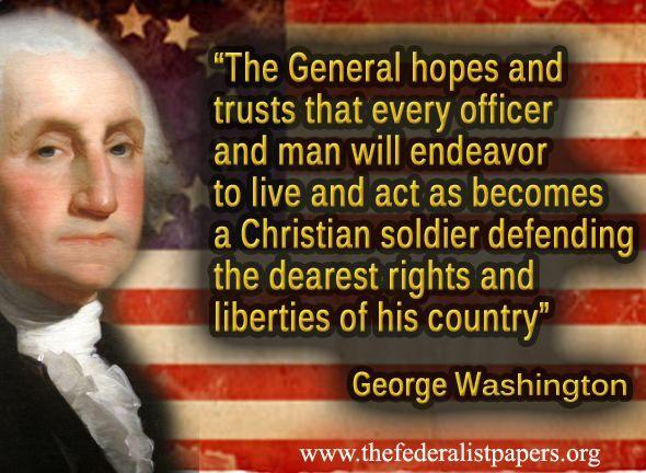 George Washington Biblical Quotes