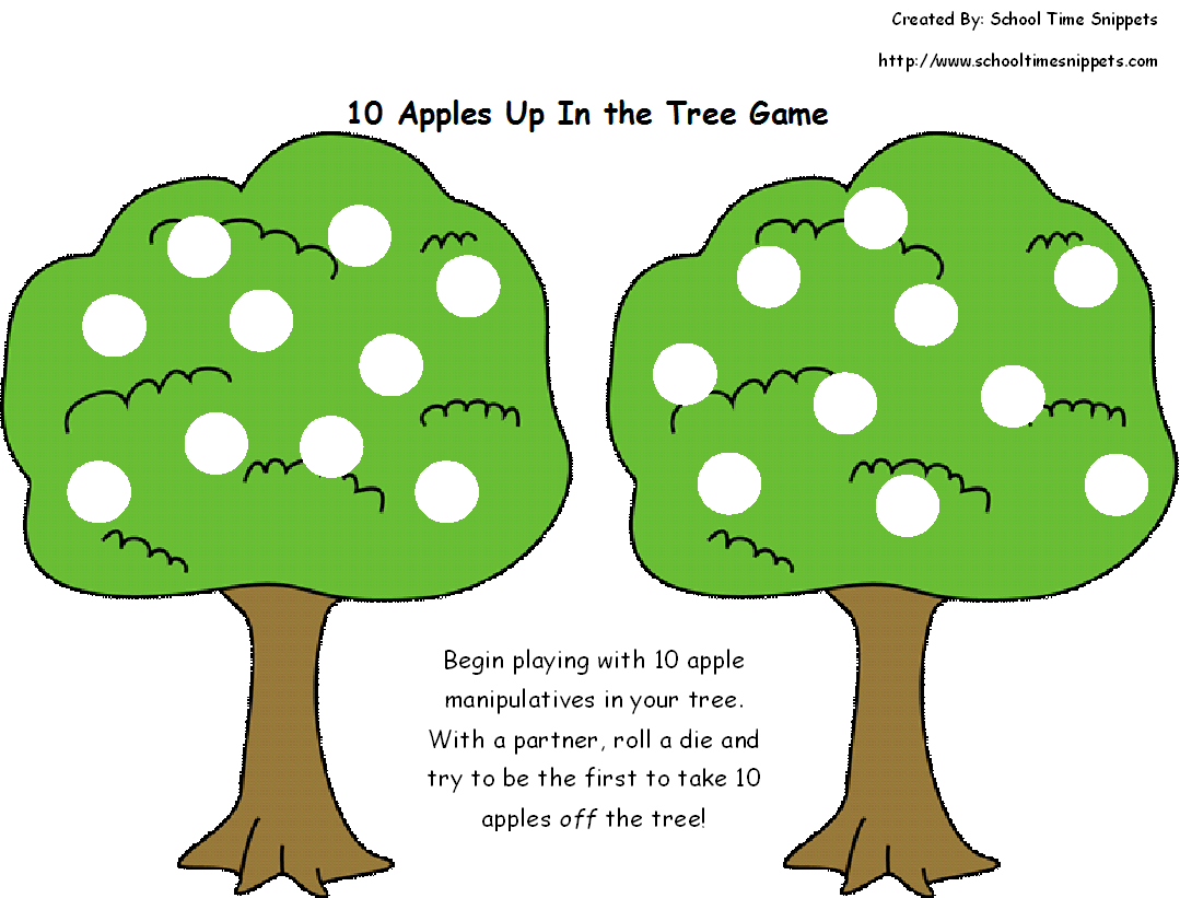 6 Fun Ten Apples Up On Top Activities For Little Ones