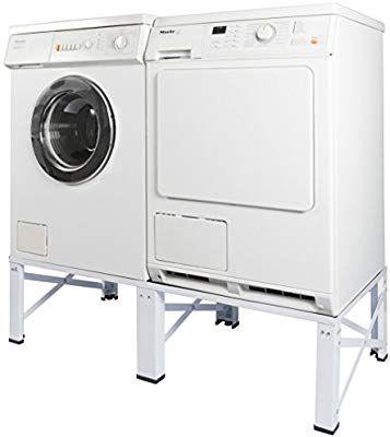 Doppel Untergestell für Waschmaschine und Trockner Sockel