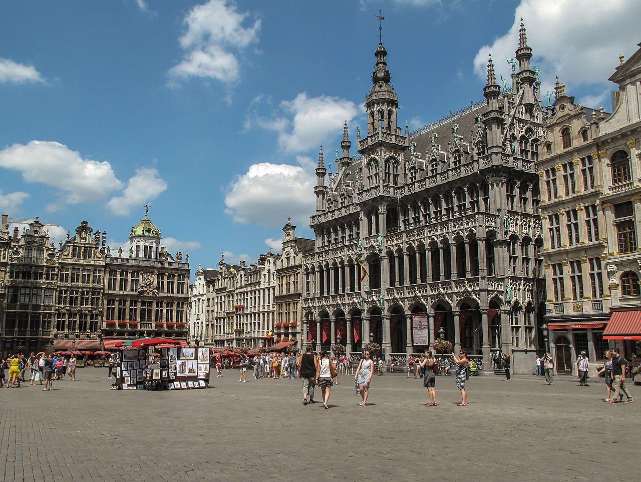 GrandPlace de Bruxelles en 2020 Grand place de