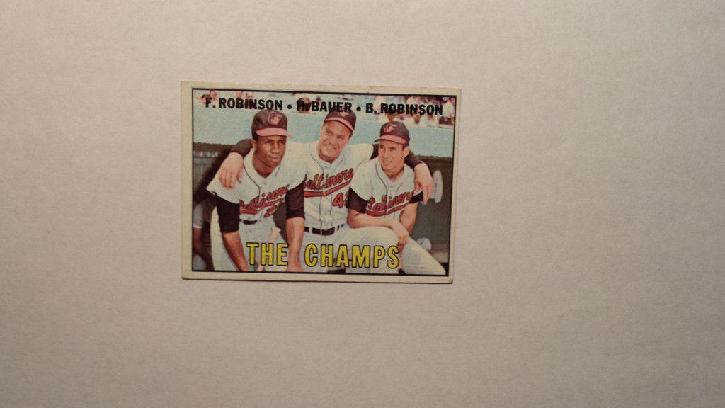 1967 Topps Baltimore Orioles Team single baseball card