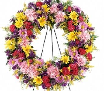 HBTF189-8 eternity wreath 150 hbf