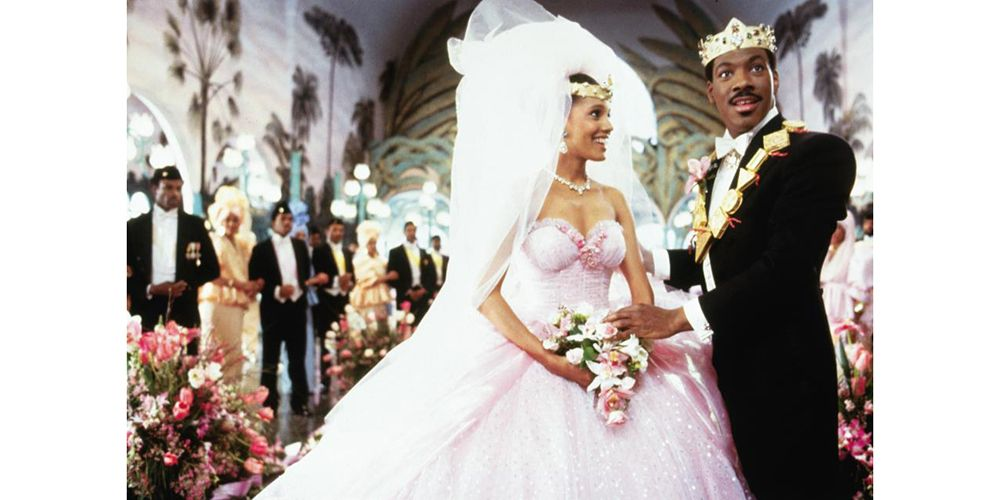 In Photos: 32 Iconic Movie Wedding Gowns | Shari headley and Movie