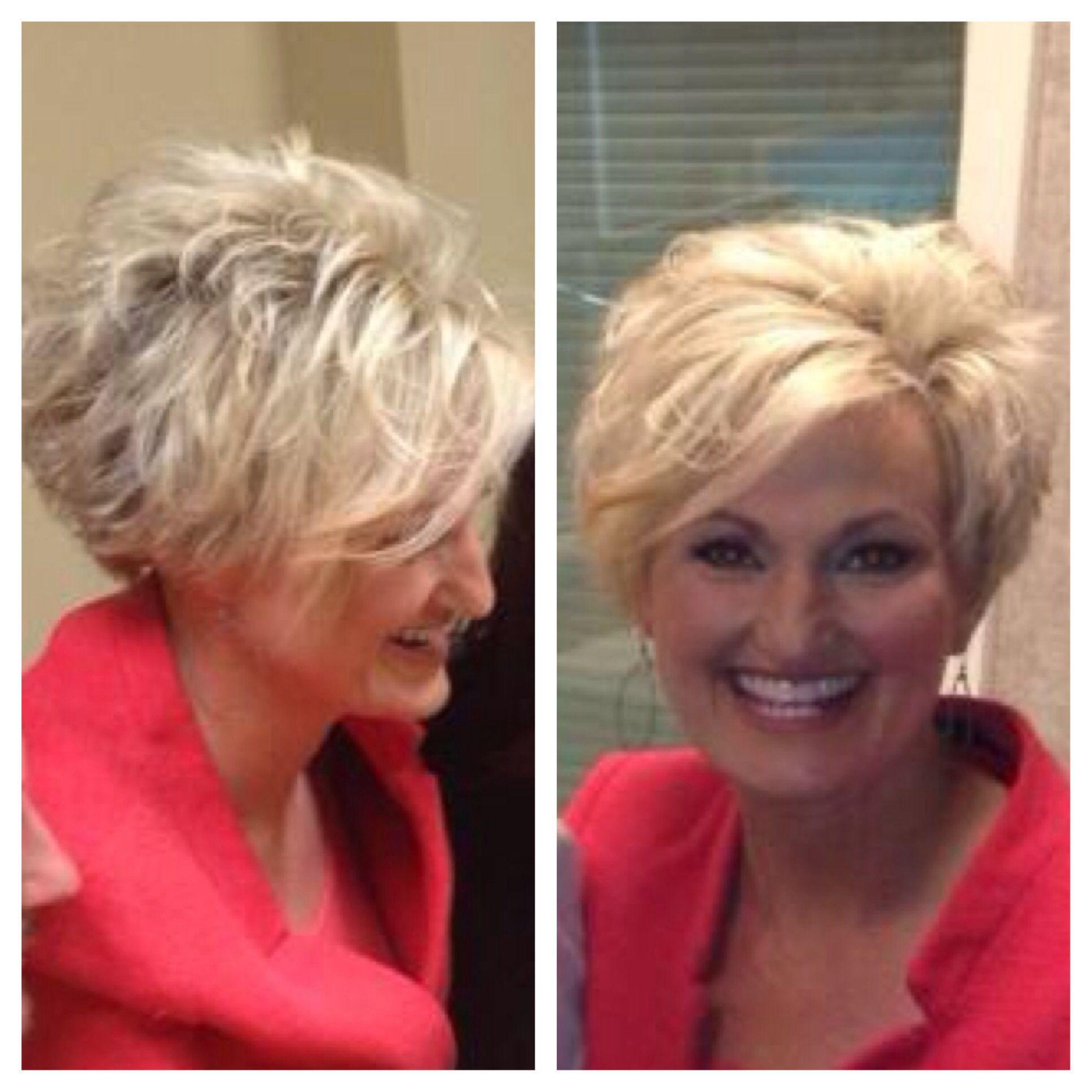 Amazing Short Funky Hairstyles For Older Women Innovations Feilong