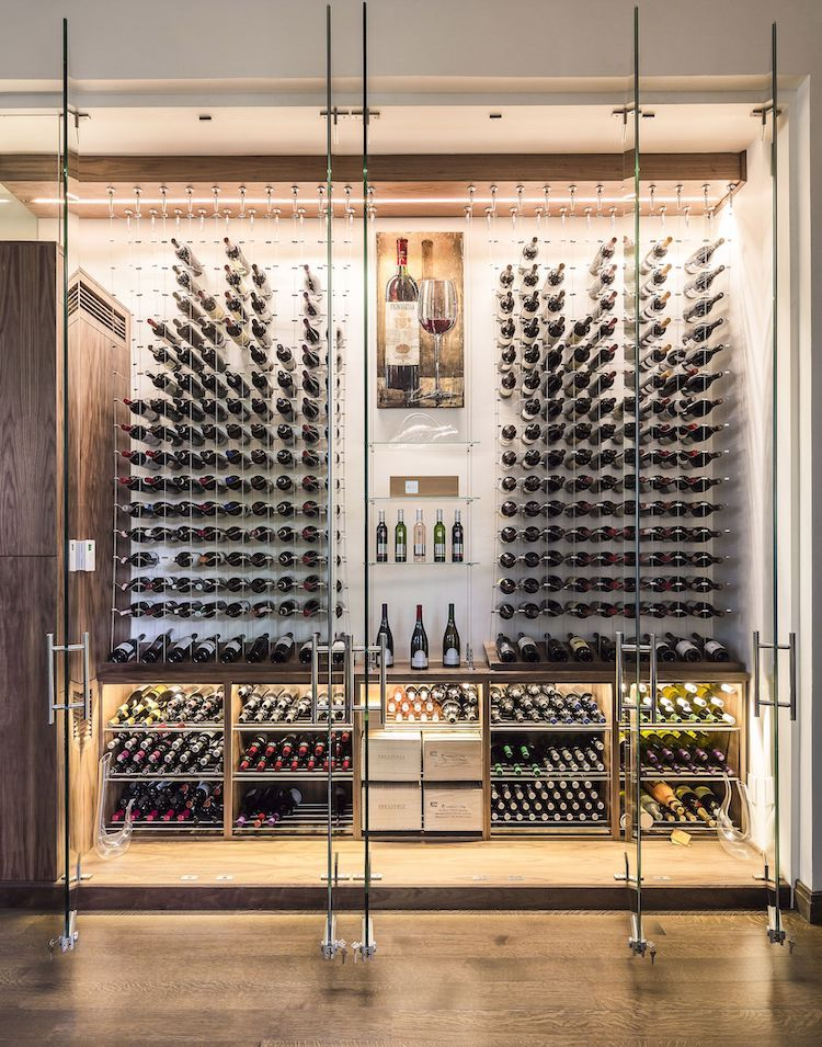 15 Incredible Home Wine Cellars For The Wine Connoisseur