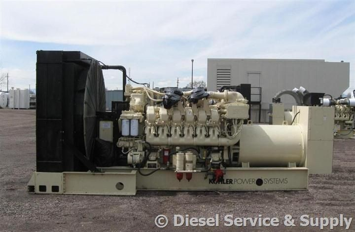 Pin by Diesel Service & Supply on Used Generators | Generators for