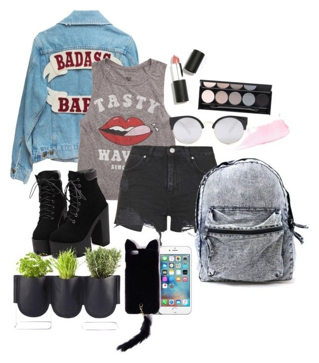 """""""EDGY"""" by kawaiitimemachine on Polyvore featuring Billabong, Topshop, Forever 21, Missguided, Sigma Beauty, Witchery, Authentics, women's clothing, women and female"""