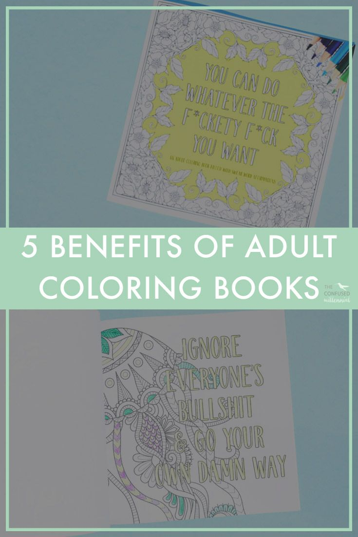 5 Reasons To Get An Adult Coloring Book