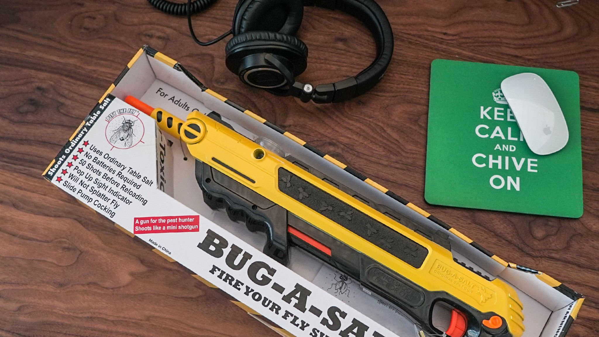 Bug-A-Salt Gun