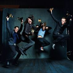 Grammy winners! Photo by Danny Clinch.