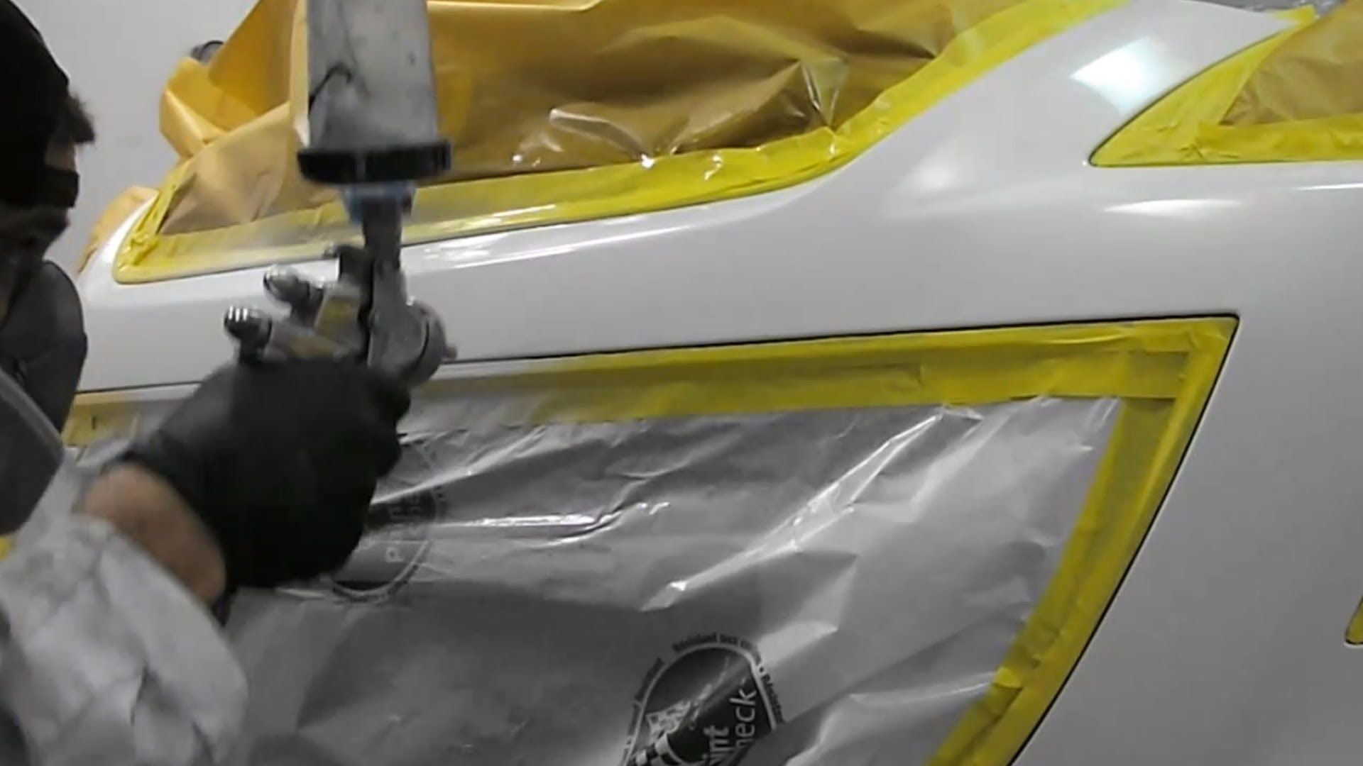 How to Blend Clear Coat (Base / Clear) - Spot Repair