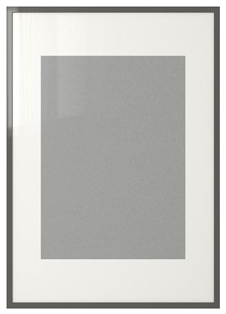 IKEA 2 x high gloss grey frames £16 each Size 70x100 cm   Living ...