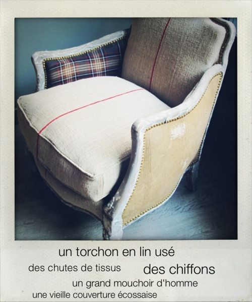 Armchair By Maison Caumont Photo Martine Kurz With Images Armchair Vintage Decor Chair