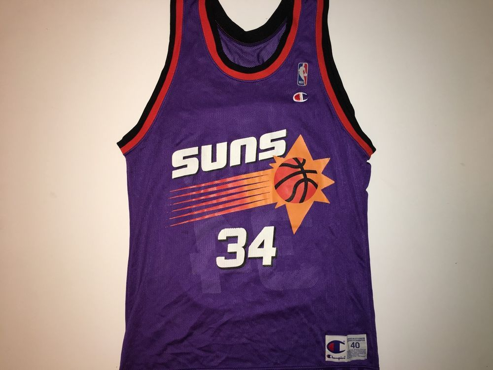 pretty nice a860f 6ec30 Champion NBA Phoenix Suns Charles Barkley Jersey in 2019 ...