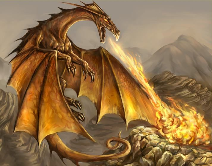 Topaz Dragons Are Selfish And Have Erratic Personality Which Makes Them Dangerous Deal