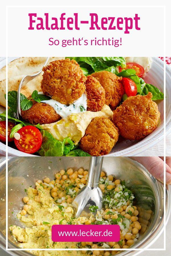 Falafel Selber Machen Das Beste Rezept Beilagen Falafel Und Bubo