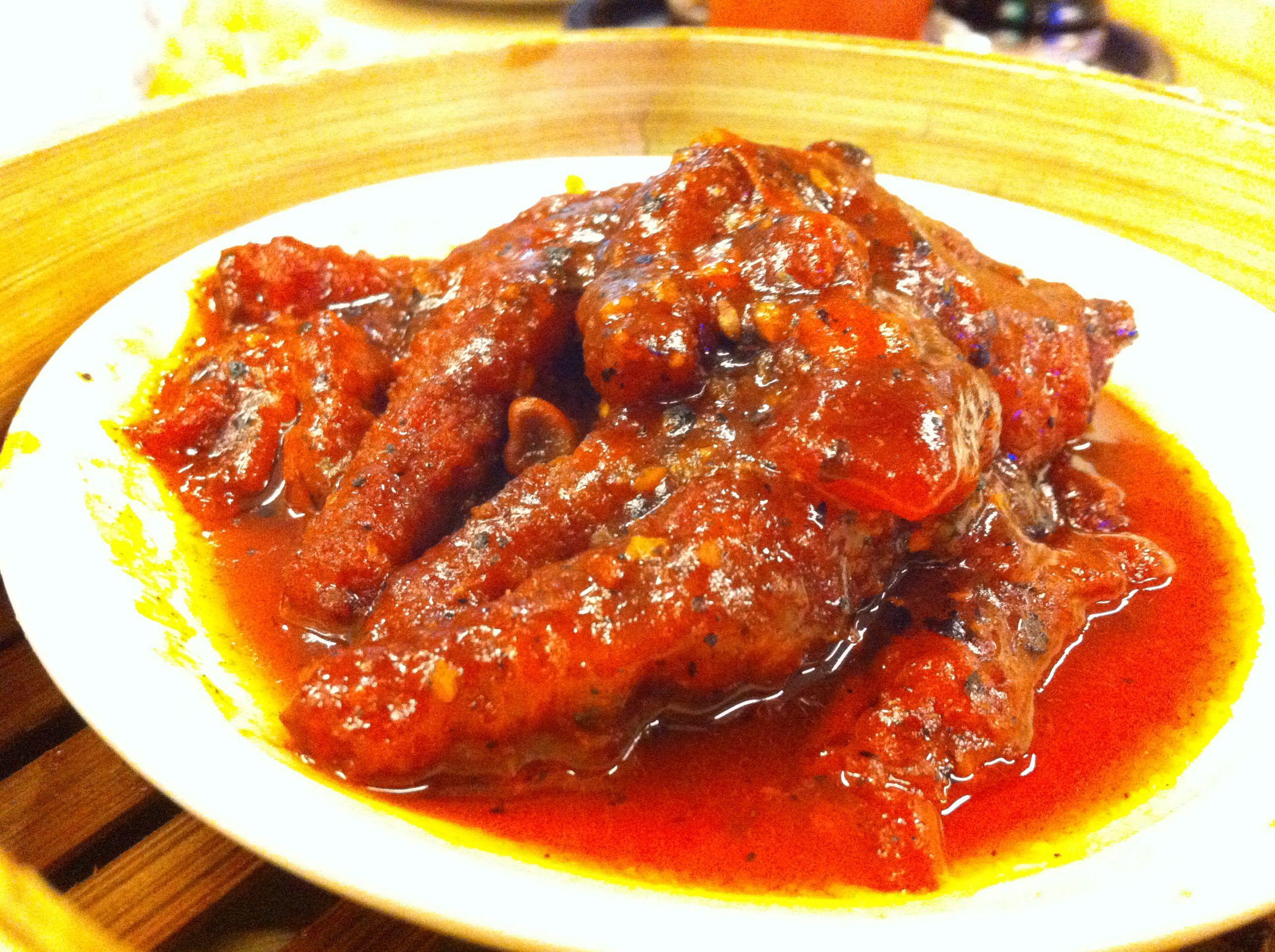 Fong Zau Steam Chicken Feet At Imperial Kitchen Dimsum Jakarta Indonesia Ayam
