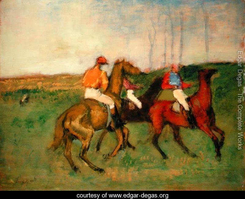 Race Horses Edgar Degas With Images