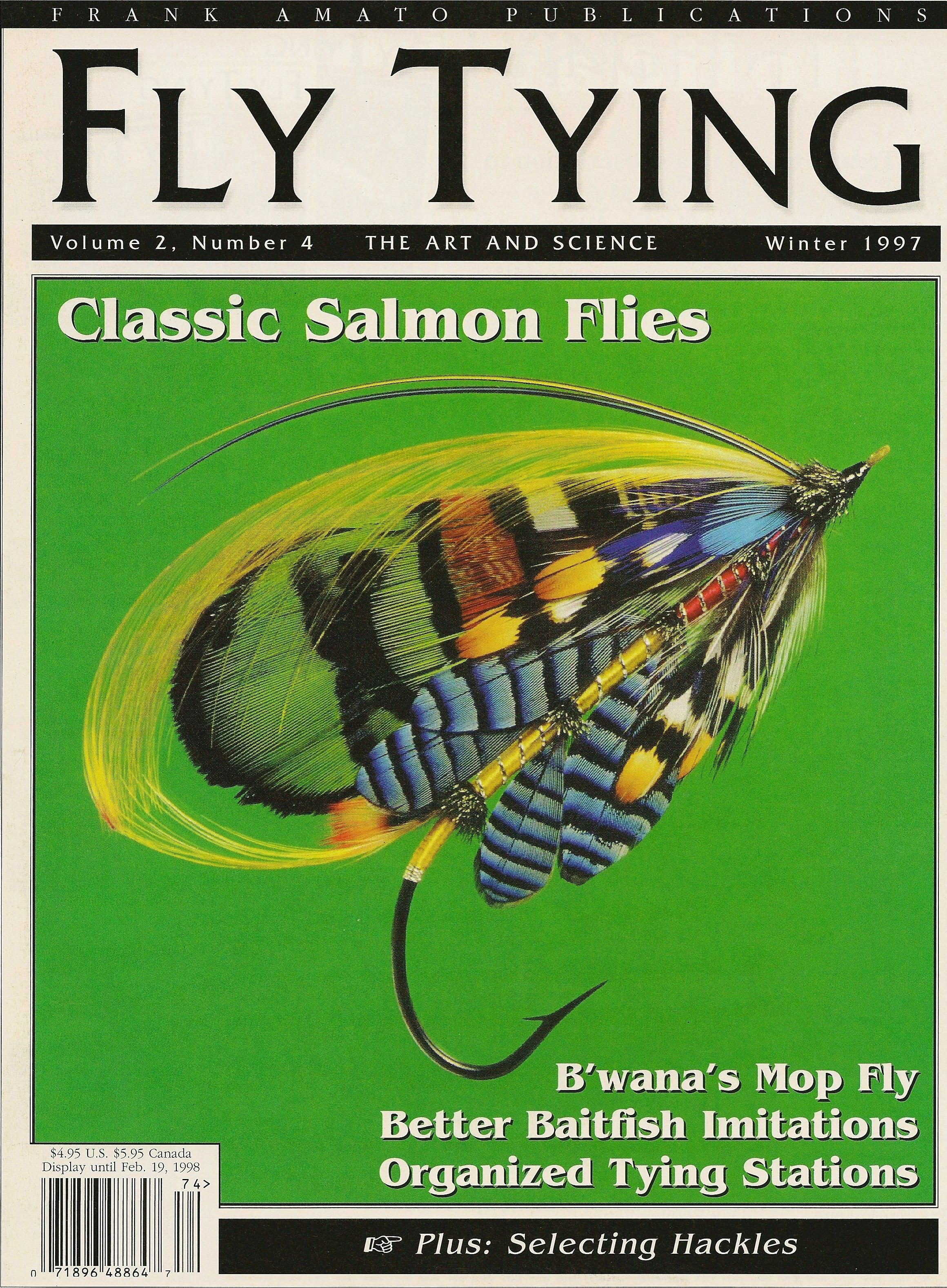 Fly Tying Classic Salmon Flies Fly Tied By Andy Anderson