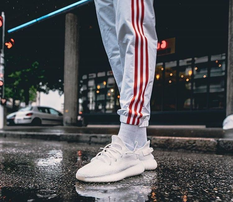 Featuring the new Adidas Yeezy Boost 350 V2 u0026quot;White/Cream Whiteu0026quot; | Sneaker Fashion | Pinterest ...