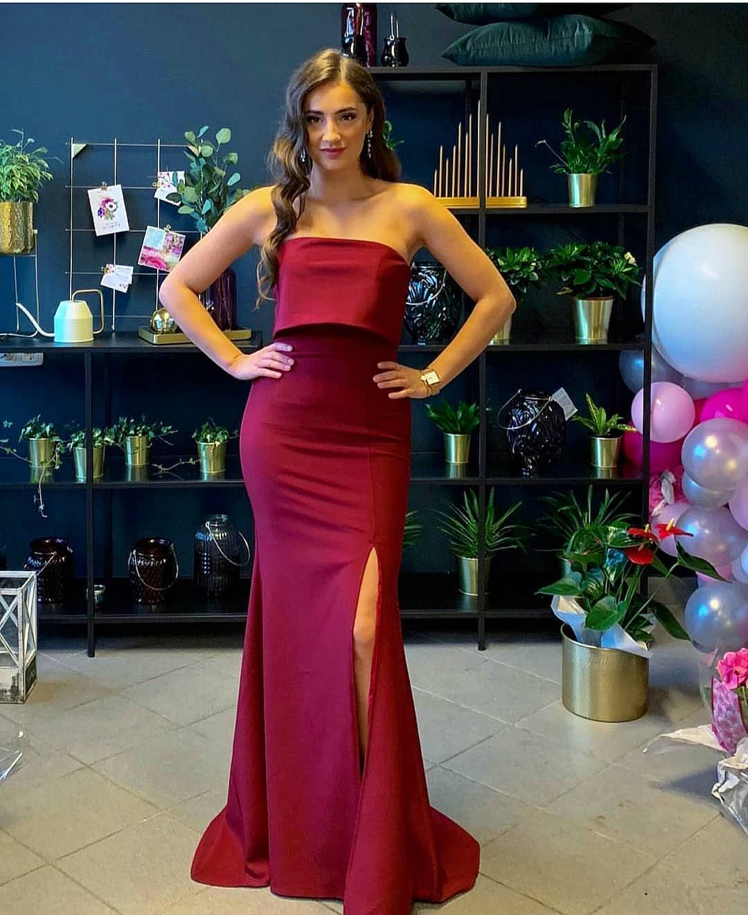 a970bff4c6d3 Mesmerising @erna_da in our AMBER gown in berry. #ootd #lookoftheday  #dressgoals #asseenonme #asos #occasionwear #eveningwear #promdress  #eveninggowns