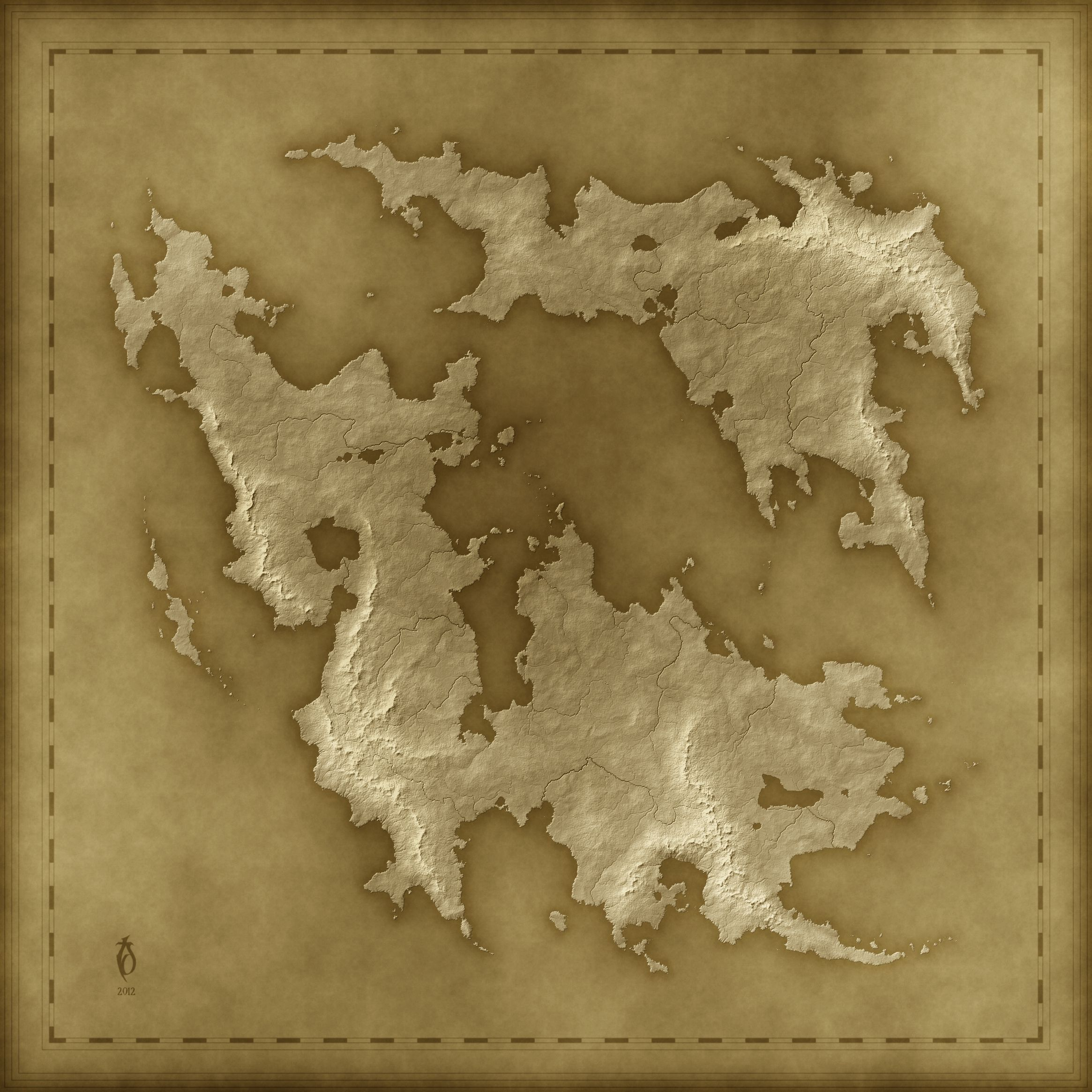 A Free Old Fantasy Map By Arsheesh Deviantart Com On Deviantart