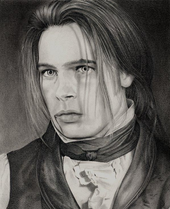 Brad Pitt Interview With The Vampire Drawing