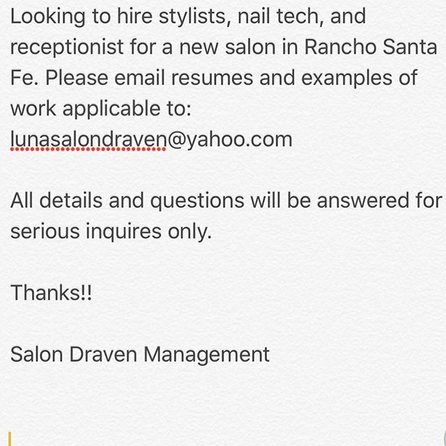 salondraven #hairsalon #booth #boothrent #hair #hairstylist - hairstylist resume examples