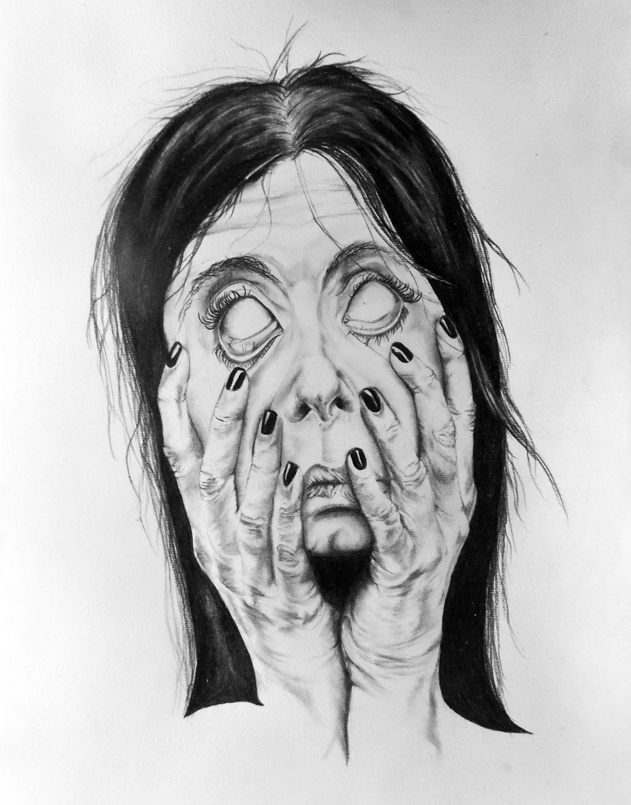 Look Into My Eyes A3 Pencil A Pencil sketch depicting a ...
