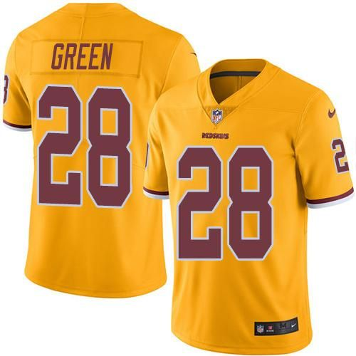 cheap for discount 7e1ad 0bd84 Nike Redskins #28 Darrell Green Gold Men's Stitched NFL ...