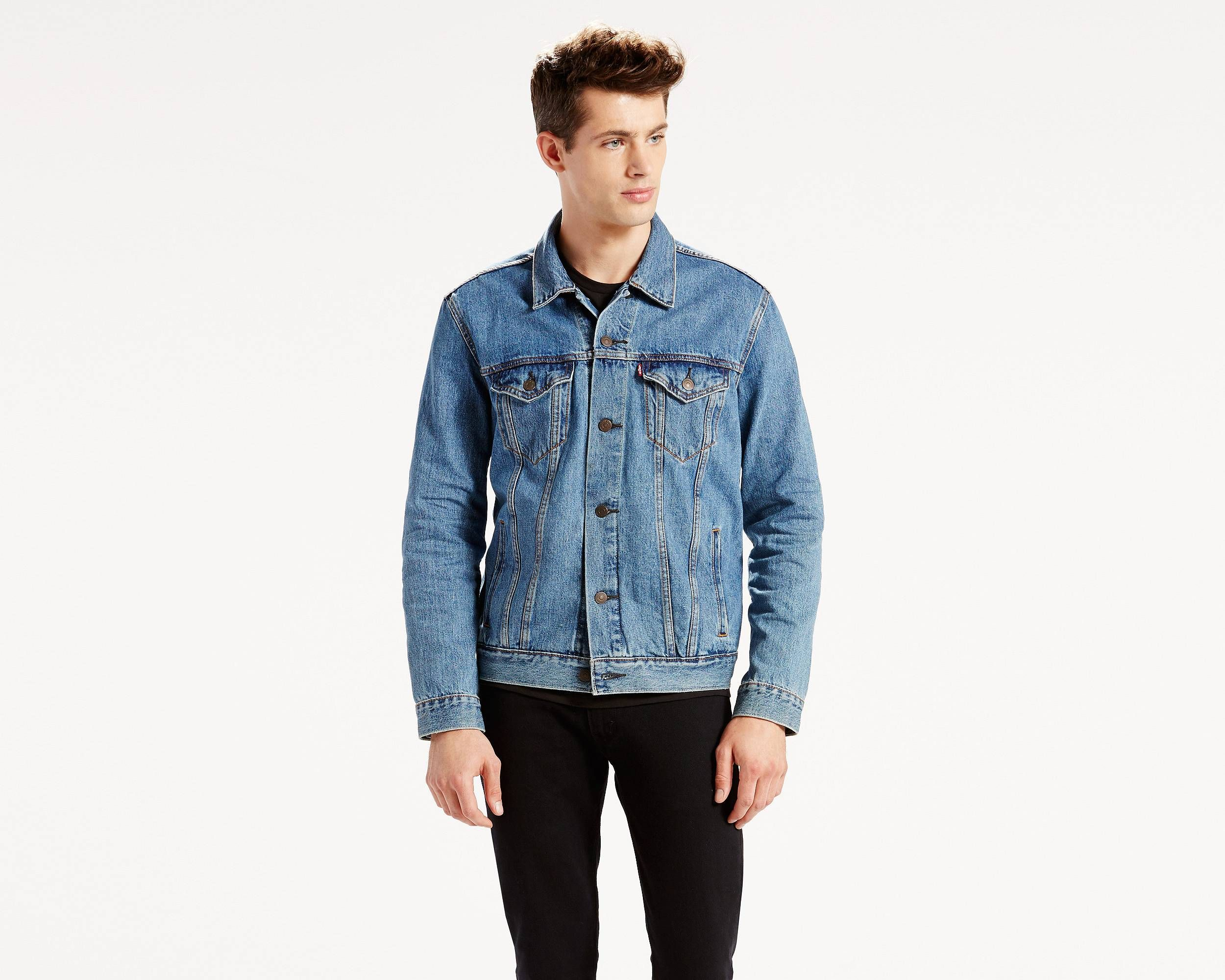 The Trucker fit is our most universal denim jacket fit for men ...