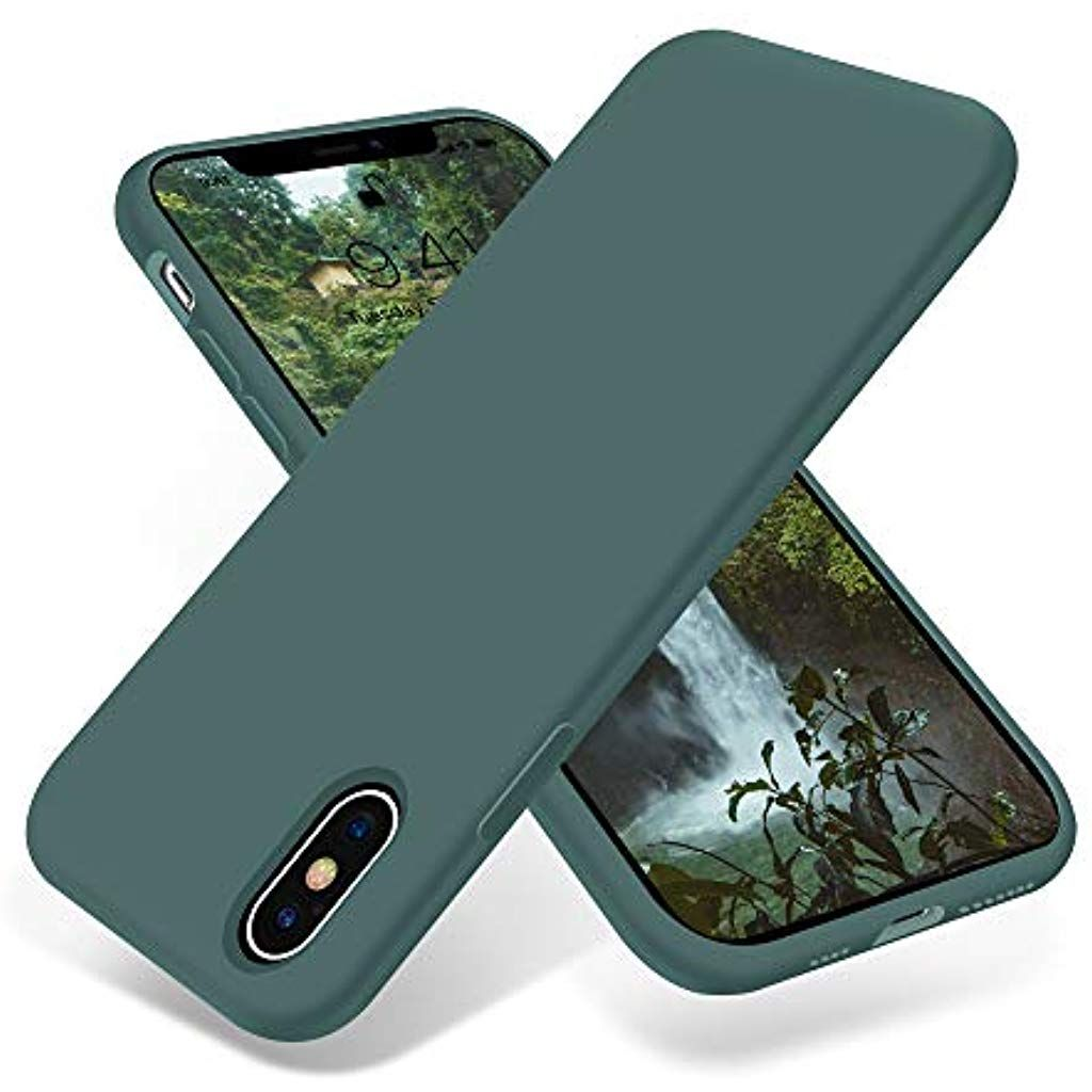 EOUINE COVER IPHONE Xs / X 2-Pack Ultra Slim Protective Custodia
