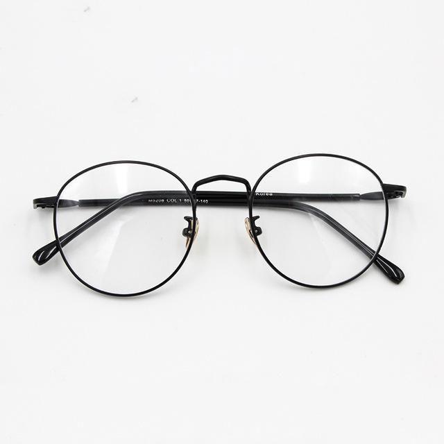 2016 New Brand Ultra-light Memory Titanium Glasses Frames Men ...