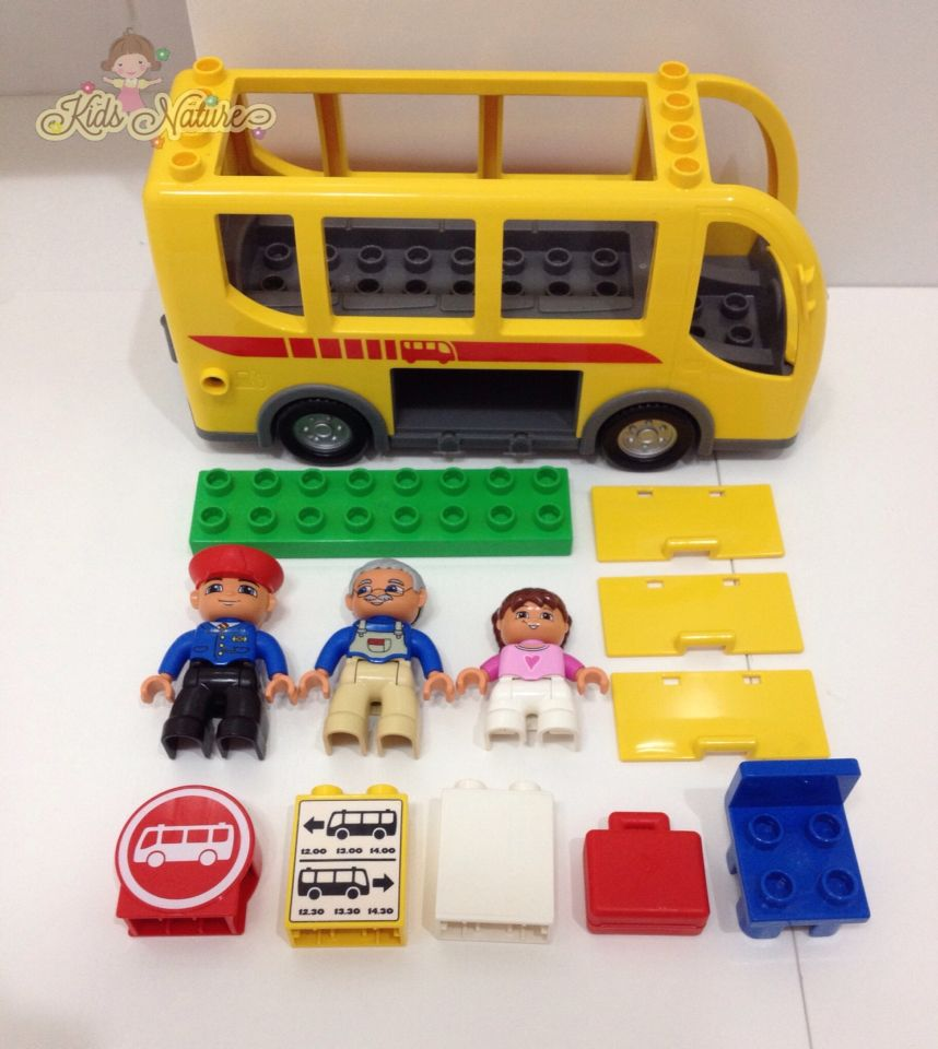 how to build a lego bus