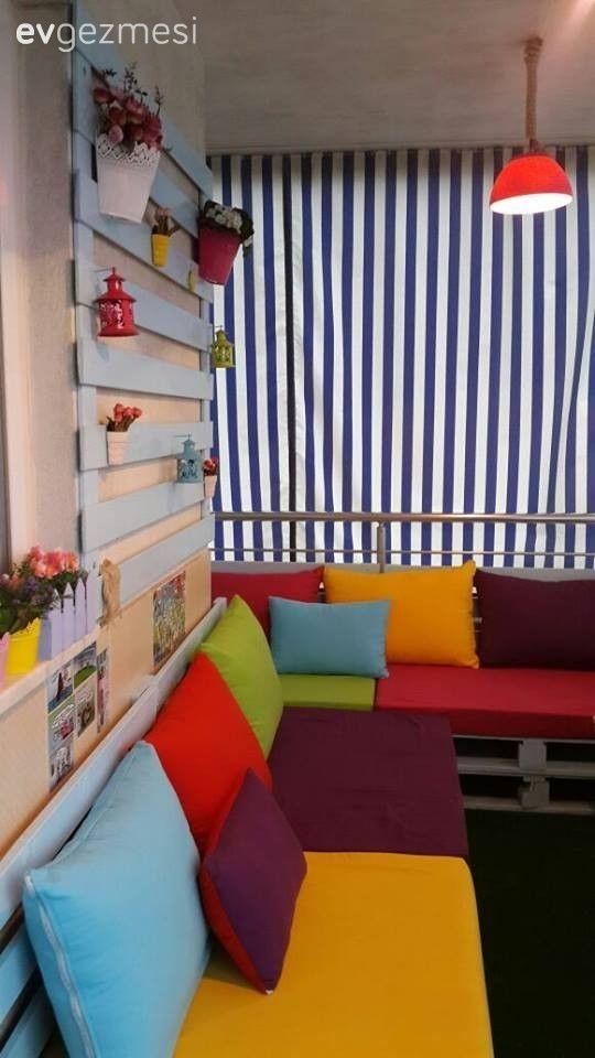 Balkon dekorasyonu zamanı. Gerçek evlerden 28 şahane balkon tasarımı.. | Ev Gezmesi