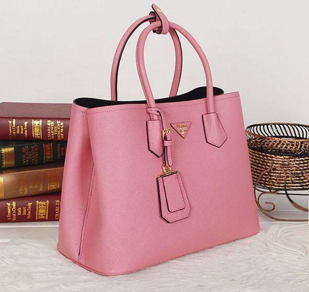 It bag  Uma bolsa rosa pra chamar de sua!  d1c408e379d