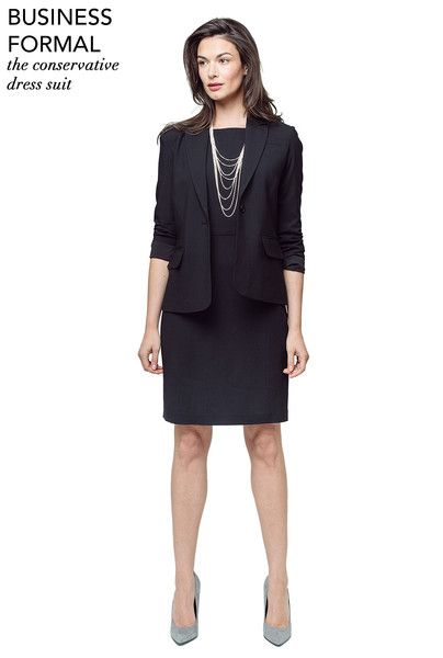 Business Formal Dress Suit for Women | Of Mercer | Women ...
