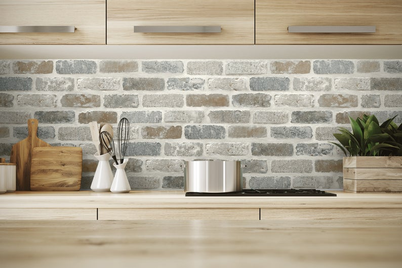 Wallpaper Peel And Stick Brick Peel And Stick Wallpaper Peel