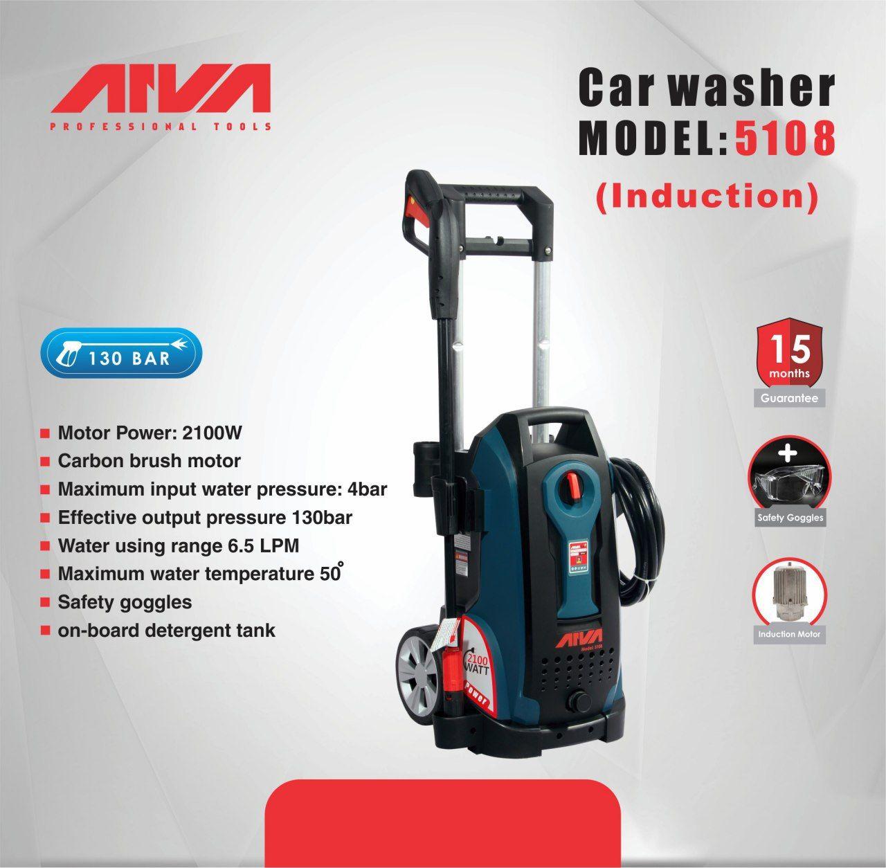 Car Washer 5108 Motor Power 2100w Powerful Dynamic Motor Maximum Input Water Pressure 4bar Effective Output Pressure 130bar Car Washer Car Wash Car Towel