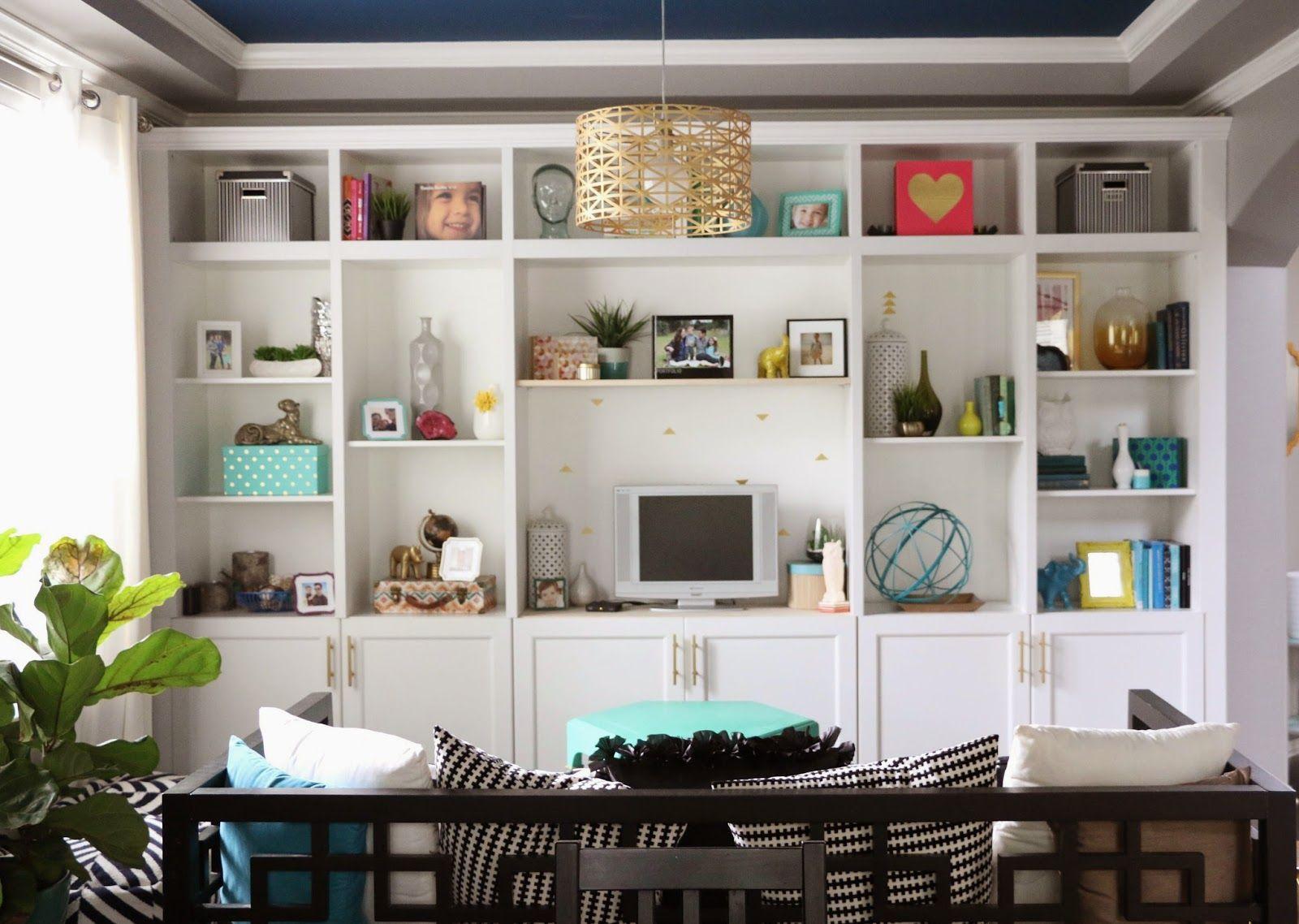 Build It IKEA Besta Built In Hack Shelves Playrooms And Room