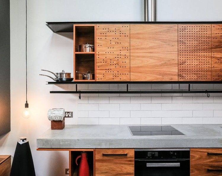 Moderne, offene Küche im Industrial Stil Wohnideen Küche Pinterest - moderne offene küche