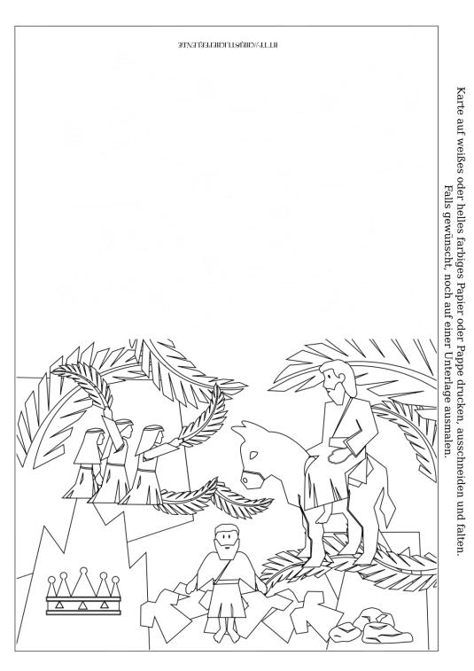 Palmsonntag Karte Drucken Palmsonntag Pinterest Palmsonntag