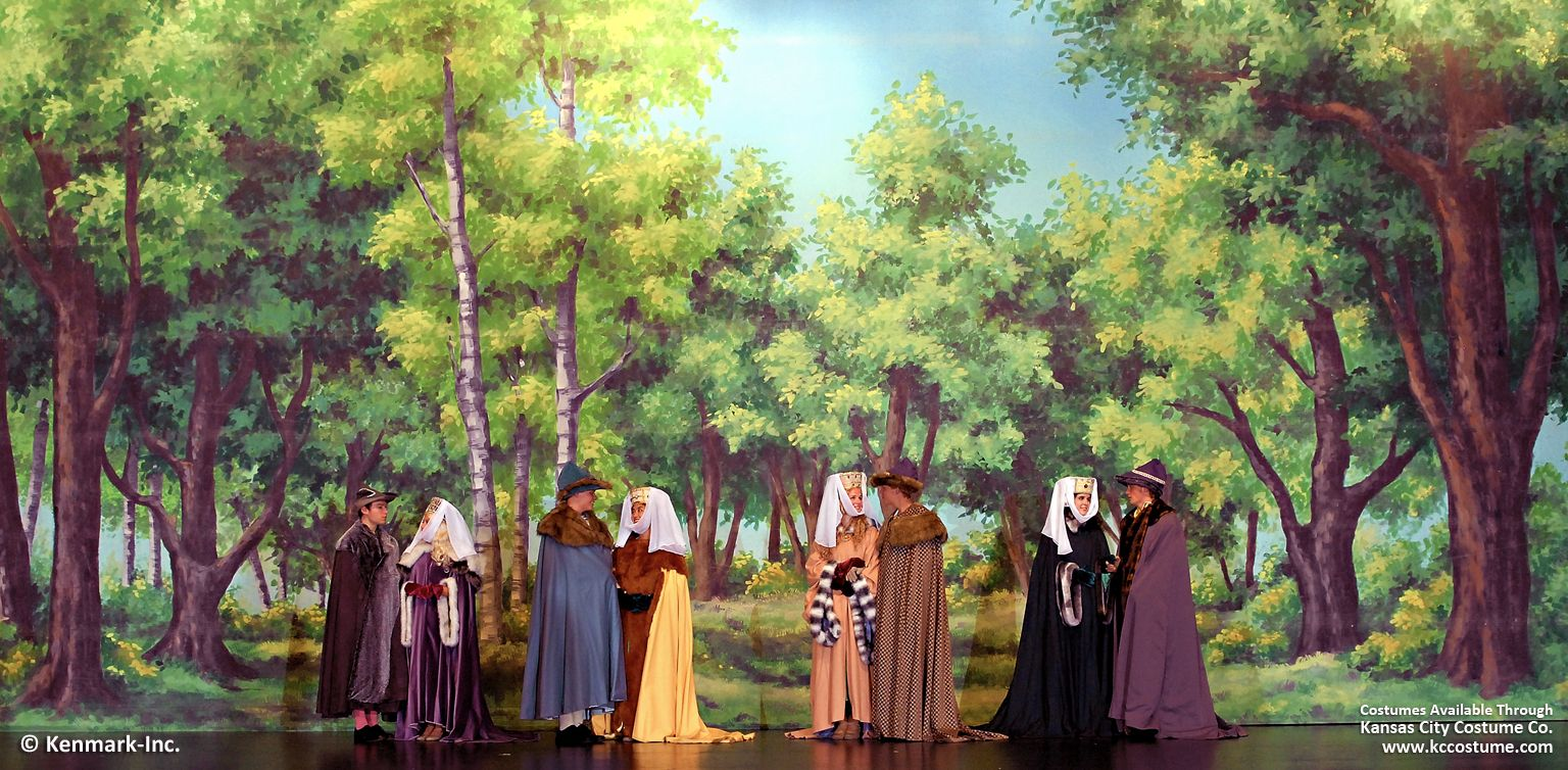 351D Forest - Theatrical Backdrop Rentals by Kenmark
