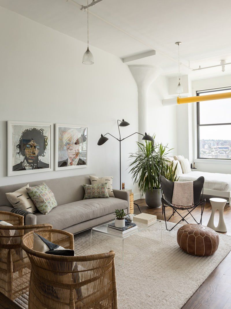 12 Room Divider Ideas, Because Studio Life Is All About Personal Space