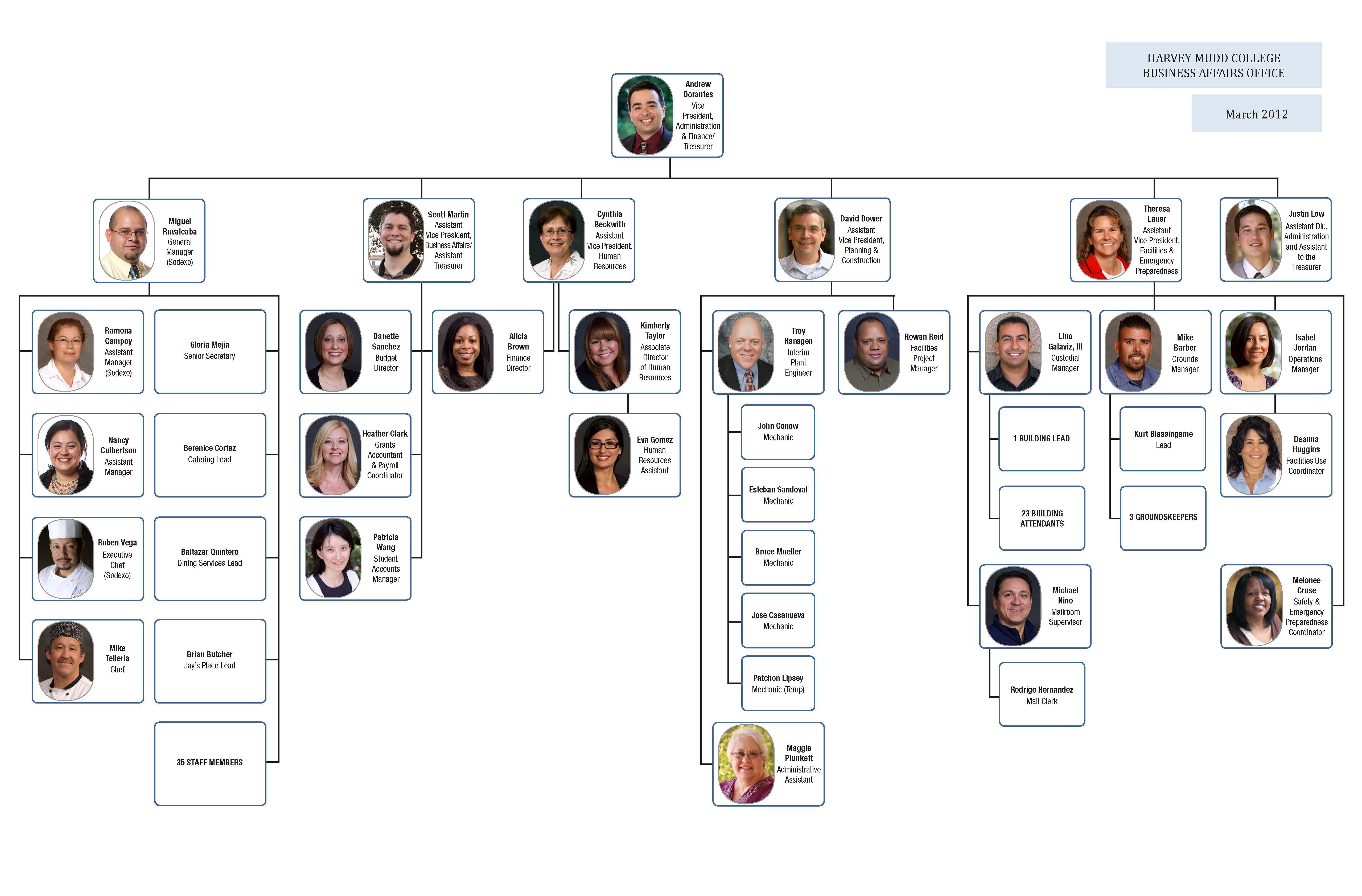 Organizational Chart Http Www5 Hmc Edu Baonews Wp